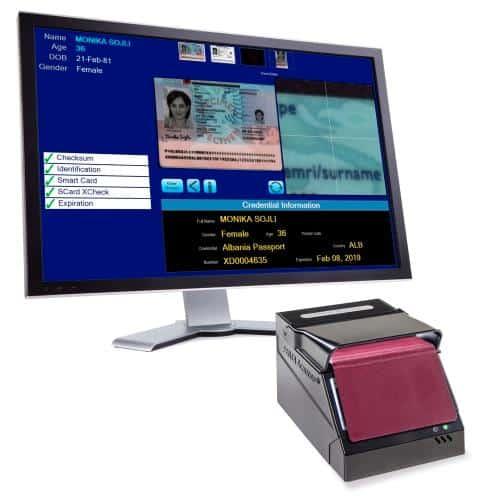 Máy đọc hộ chiếu