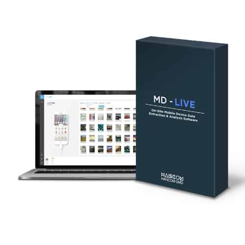 Phần mềm trích xuất và phân tích nhanh dữ liệu điện thoại – MD-LIVE