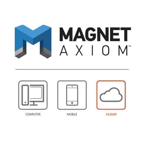 Phần mềm trích xuất, phân tích dữ liệu đám mây Magnet Axiom Cloud