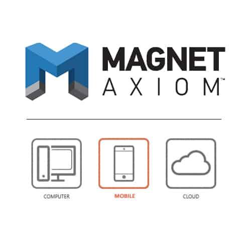 Phần mềm trích xuất, phân tích dữ liệu điện thoại – Magnet Axiom Mobile