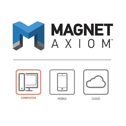 Phần mềm trích xuất, phân tích dữ liệu máy tính – Magnet Axiom Computer