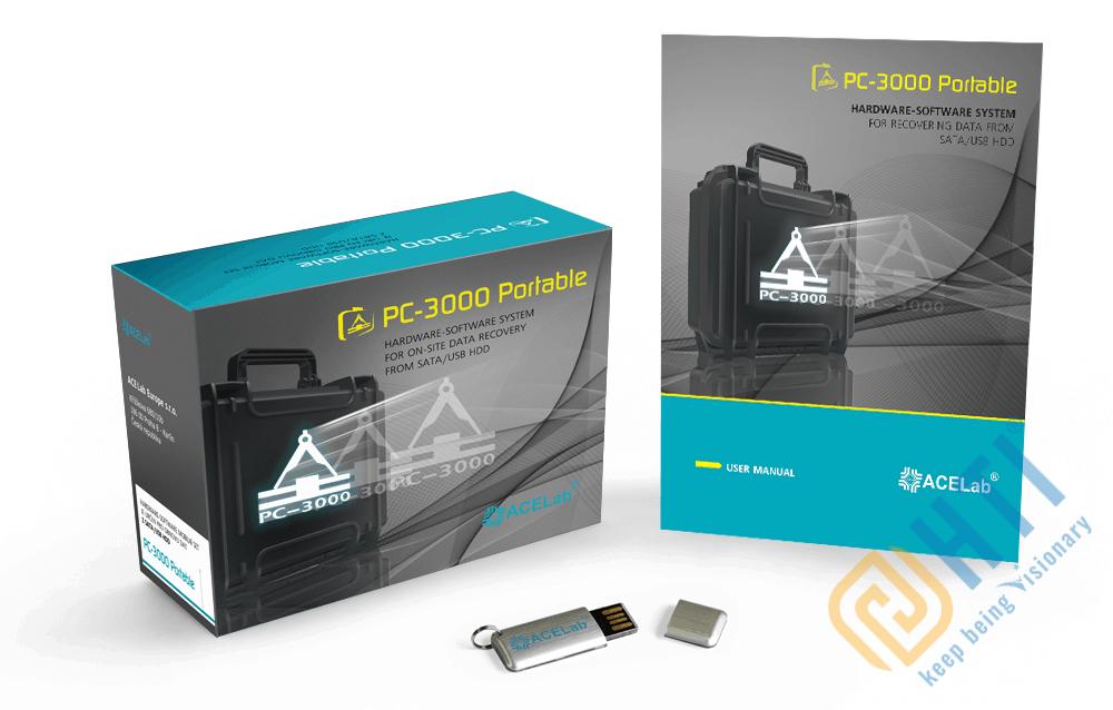 PC3000 Portable III Systems – Hệ thống di động phục hồi dữ liệu trên ổ cứng