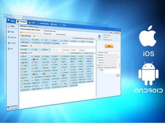 Phần mềm trích xuất và phân tích dữ liệu điện thoại di động – Moblie Forensics System