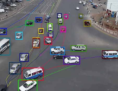Vehicle identifying and tracking system