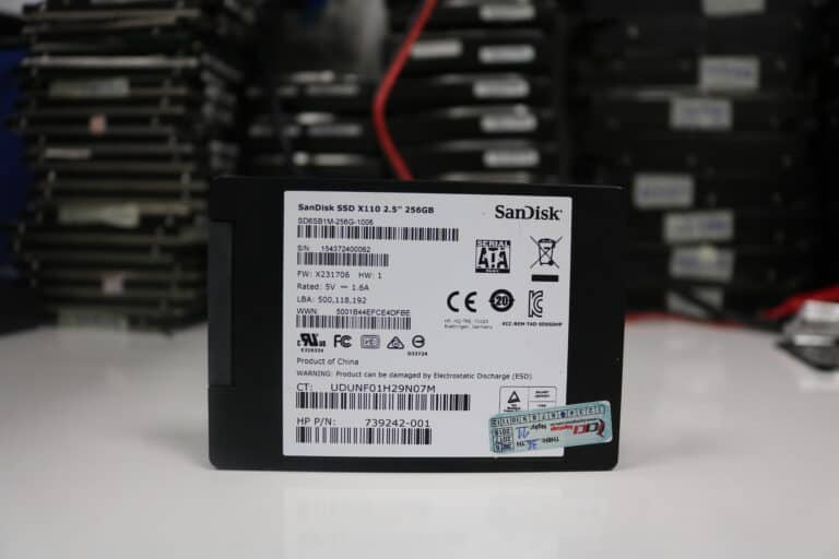 Một ví dụ về ổ cứng SSD